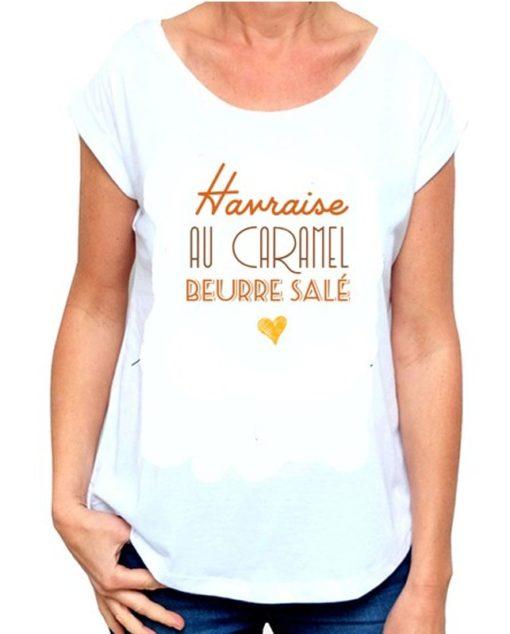 T-Shirt Le Havre Caramel au beurre salé