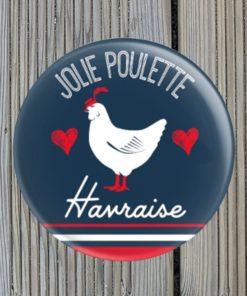 Magnet Décapsuleur Jolie Poulette Havraise