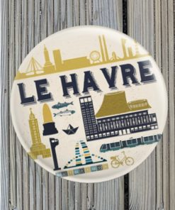 Magnet Décapsuleur Le Havre Vintage