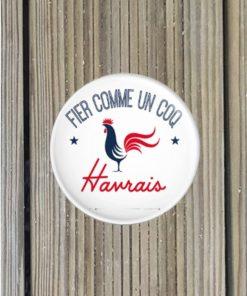 Badge Fier Comme un Coq