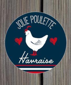 Sticker Jolie Poulette Havraise