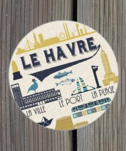 Sticker Le Havre vintage