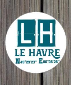 Sticker GPS LH