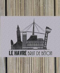 Carte Postale Le Havre de béton