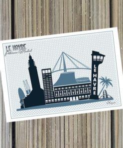 Carte Postale Le Havre Patrimoine