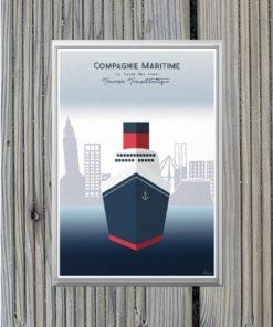 Magnet Le Havre Transatlantique