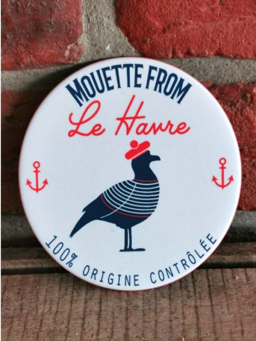 Sous-Verre Mouette from Le Havre