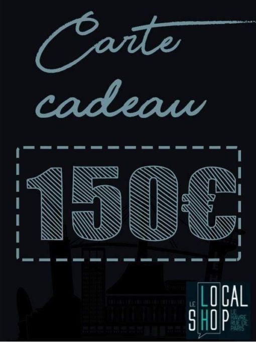 Carte-Cadeau 150€