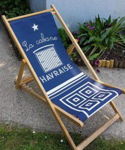 Chaise Longue Cabane Havraise