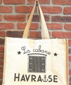 Sac en jute La Cabane Havraise