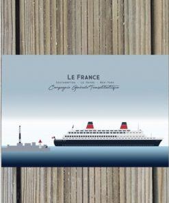Carte Postale Le France