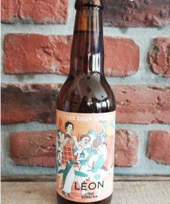 Léon Bière Bière Bio Artisanale Gose au Sobacha 33 cl