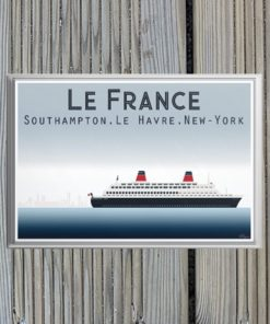 Magnet Le France Transatlatique