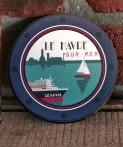 sous-verre Le Havre sur Mer