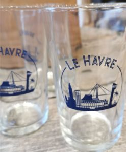 6 Verres gobelets Duralex Le Havre