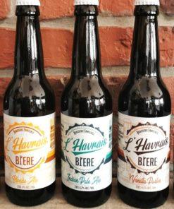Pack L'Havrais Bière Blonde IPA Vanilla Porter