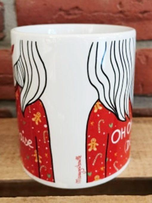 Mug havraise de Noël par Marygribouille