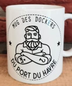 Mug Les Dockers du Port Du Havre