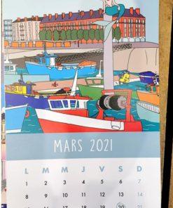 Calendrier 2021 Le Havre Magic par Chapeau Péruvien