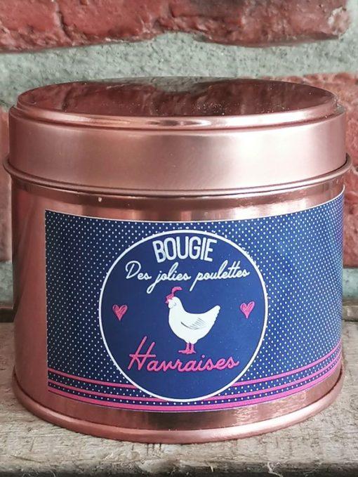 Bougie Jolie Poulette Havraise