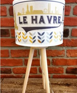 Lampe tripode Le Havre Version Vintage