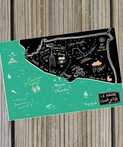 Carte Marygribouille Carte du Havre