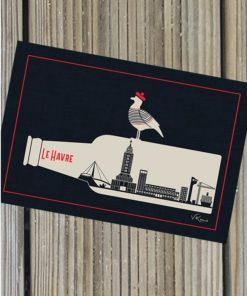 Carte postale Beer Town