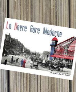 Carte Le Havre Gare Moderne