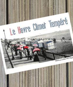 Carte 10x15 Le Havre Climat Tempéré